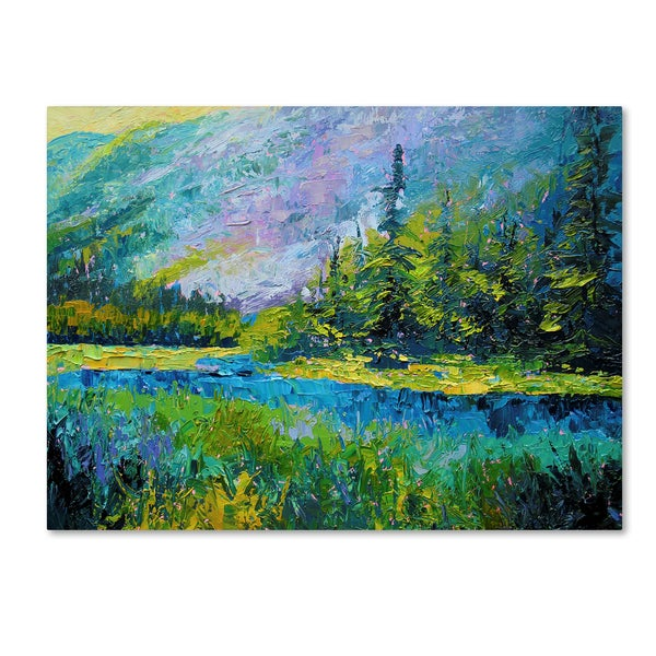 Marion Rose 'Summer Valley' Canvas Art
