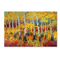 Marion Rose 'Autumn Rythmn' Canvas Art