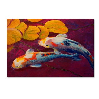 Marion Rose 'Fish' Canvas Art