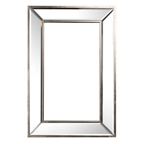 24-inch x 16-inch Contemporary Wall Mirror
