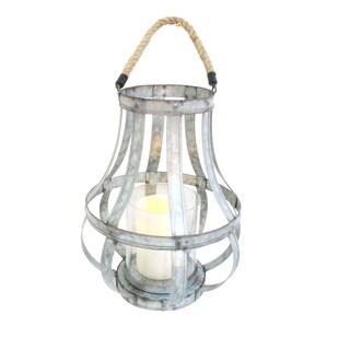 Silver Metal Lantern