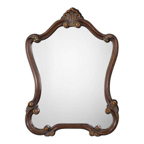 Gracewood Hollow Madanhire Bronze Mirror - 26x35x2