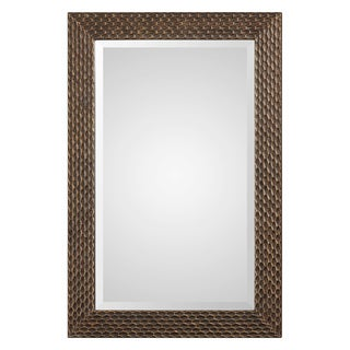 The Curated Nomad Dolores Rectangle Mirror - Bronze/Gold - 24x36x0.709