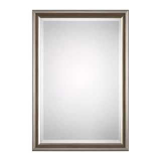 Clari Silver Triple Beaded Mirror