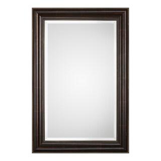 Quinn Bronze Beaded Mirror