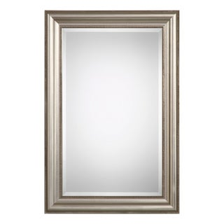 Quinn Silver Beaded Mirror