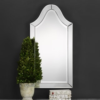 Uttermost Hovan Frameless Arched Mirror Free Shipping