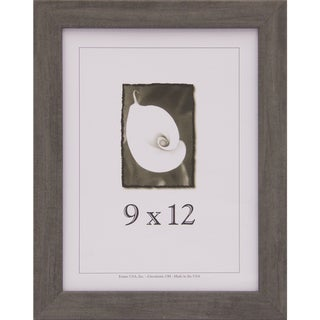 Grey Narrow Picture Frame 9x12