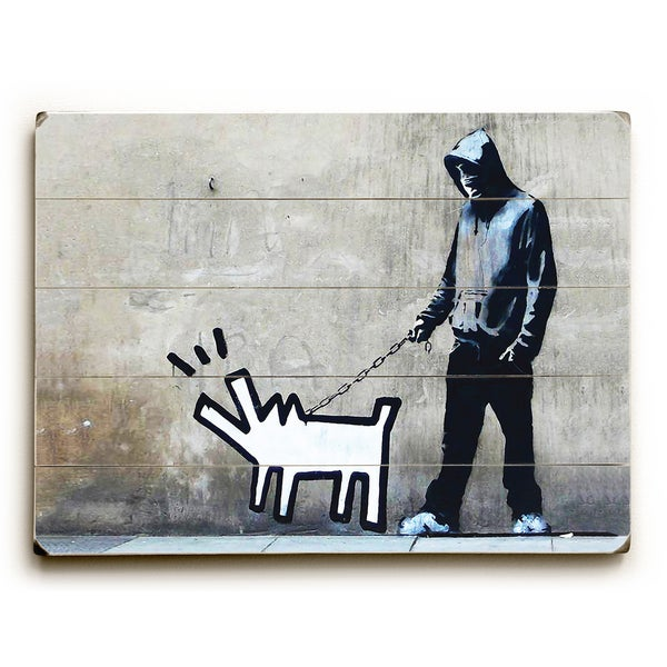 Choose Your Weapon - Grey Wall Decor by Banksy
