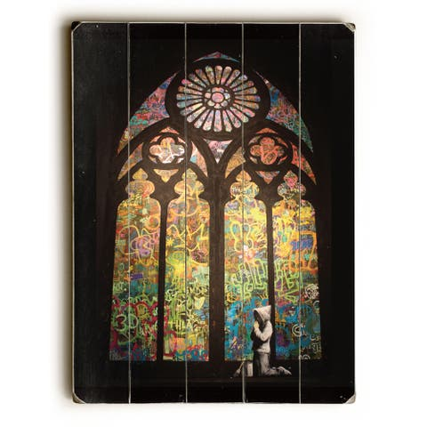 Stained glass - Multi Wall Decor by Banksy