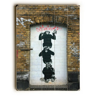 Monkey business - Multi Wall Decor by Banksy