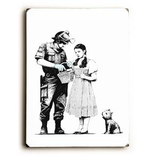 Dorothy - Wood Wall Decor by Banksy