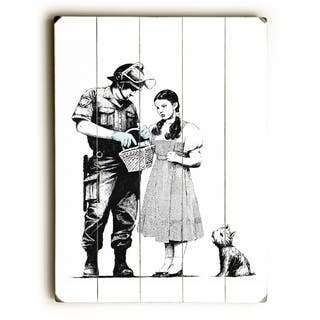 Dorothy - White Wall Decor by Banksy