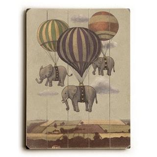 Flight of the Elephants - Wall Decor by Terry Fan