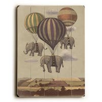 Flight of the Elephants - Wall Decor by Terry Fan