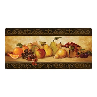 buyMats Cushion Comfort 'Gourmet Fruit' 20 x 42-inch Stain Proof Mat