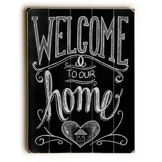 Welcome - Wall Decor by Robin Frost