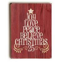 Joy Love Peace - Wall Decor by Misty Diller
