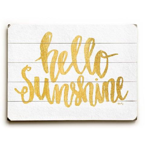 Hello Sunshine - Wall Decor by Misty Diller