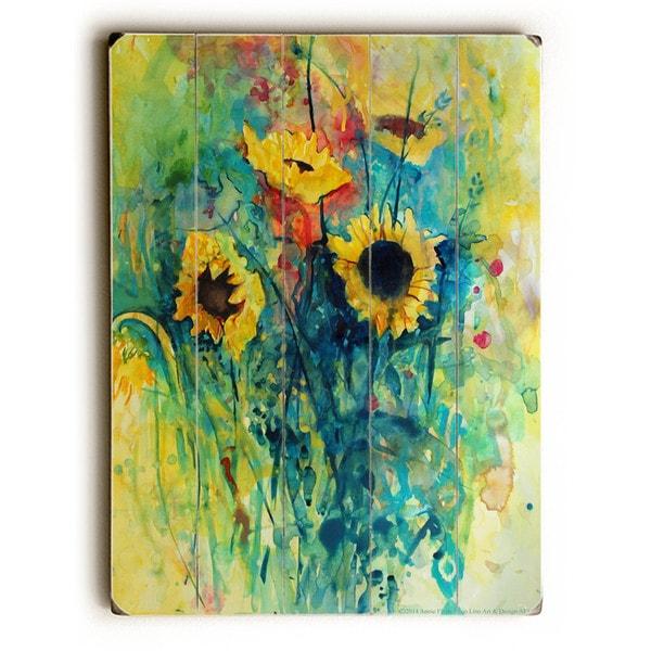 Sunflowers - Wall Decor by Annie Flynn
