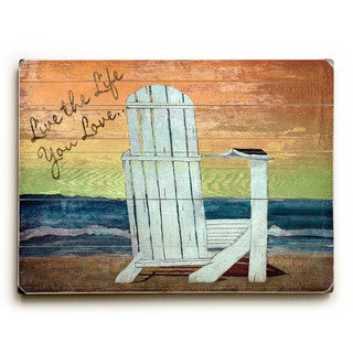 Live the Live You Love - Wall Decor by Karen Williams