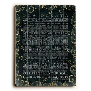 Desiderata - Wall Decor by Terry Kempfert (5 options available)