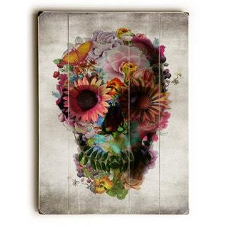 Floral Skull - Wall Decor by Ali Gulec