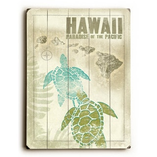 Hawaiian Turtle - Wall Decor by Wade Koniakowsky