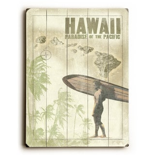 Hawaiian Surfer - Wall Decor by Wade Koniakowsky - multi