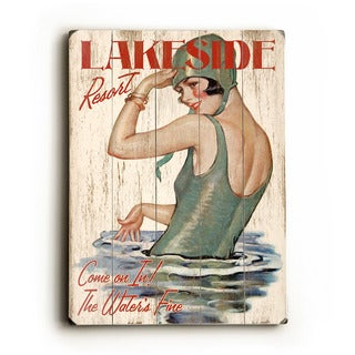 lakeside wall decor by