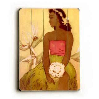 Hula Dancer Hawaii by John Kelly - Wall Decor by Matson