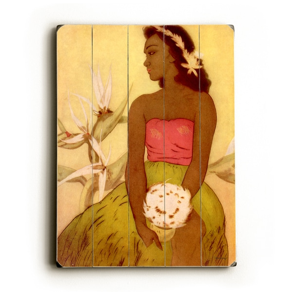 Hula Dancer Hawaii by John Kelly - Wall Decor by Matson
