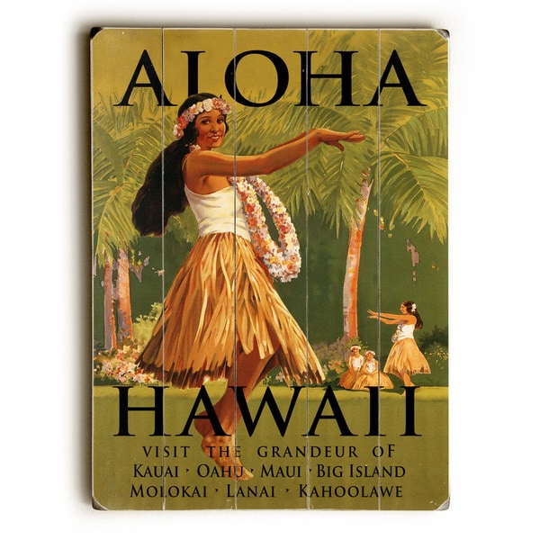 Aloha Hawaii - Wall Decor by Mondiale