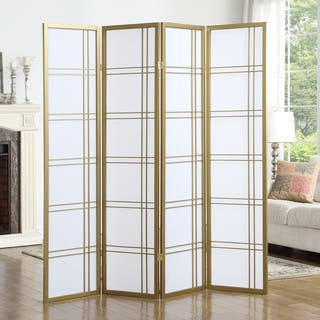 Panel Room Dividers Decorative Screens Shop The Best Deals - Cherry blossom room divider screen