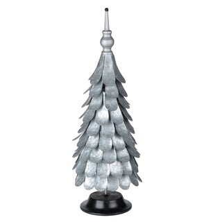 Silver Metal Accent Christmas Tree