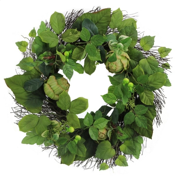 Admired by Nature 24-inch Artichoke Wreath