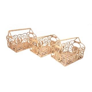 Damara Beige Natural Fiber Baskets