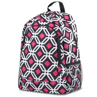Zodaca Graphic Large School Campling Rucksack Backpack with Side Pockets