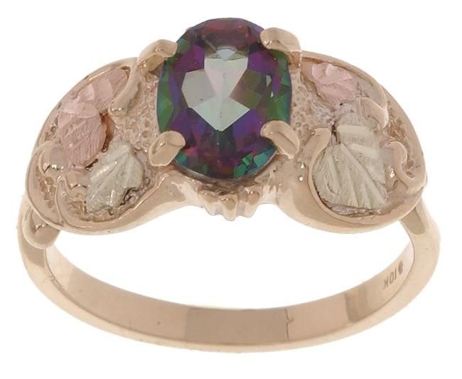 Black Hills Gold Exotic Fire Topaz Ring