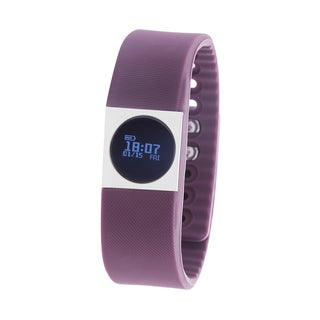 Zunammy Purple Activity Tracker Watch with Call and Message Reminders