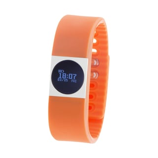 Zunammy Orange Activity Tracker Watch with Call and Message Reminders