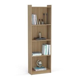 "Boahaus 71"" Bookcase, Brown, 4 shelves"