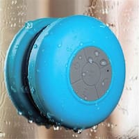 Water-Resistant Bluetooth Shower Speaker - Blue