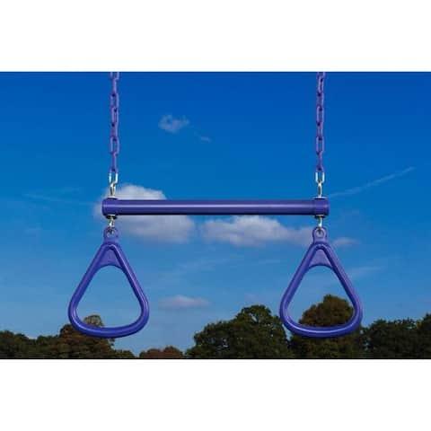 Creative Cedar Designs Triangle Rings & Trapeze Bar