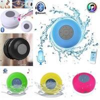Water-Resistant Bluetooth Shower Speaker - Black