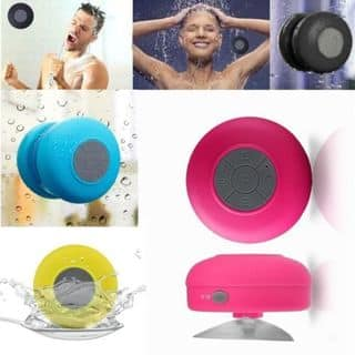 Water-Resistant Bluetooth Shower Speaker - Grey|https://ak1.ostkcdn.com/images/products/16633479/P22957898.jpg?impolicy=medium