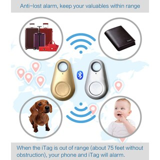 iTag Anti-Lost Theft Device Alarm - Bluetooth Smart Remote GPS Tracker for all