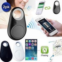 BLACK iTag Anti-Lost Theft Device Alarm - Bluetooth Smart Remote GPS Tracker for all