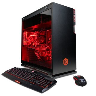 CyberPowerPC Gamer Supreme Liquid Cool SLC8620OS with Intel i7-7800X 3.5GHz Gaming Computer
