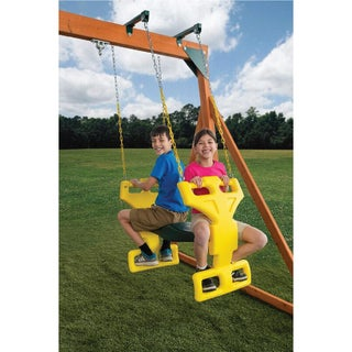 Link to Creative Cedar Designs Glider Swing (2 Person) Similar Items in Outdoor Play